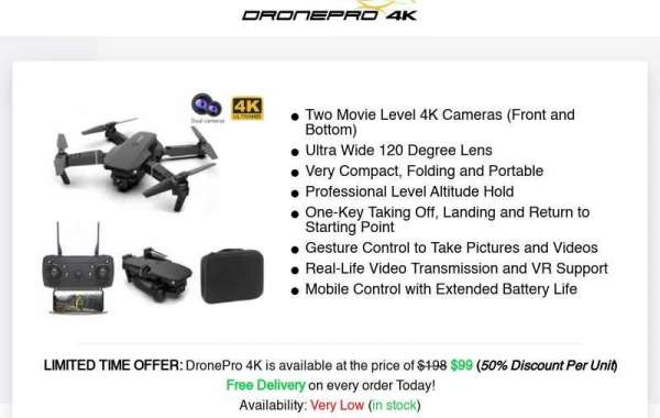 DronePro 4K Reviews: 1080P 4K Recording With FHD